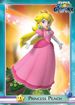 Galaxy princess mario peach Super